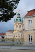 Schloss Charlottenburg at early evening - another perspective — Stock Photo