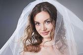 Closeup portrait of beautiful young woman — Stock Photo