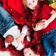 Adorable kids happy new year — Stock Photo #4051740