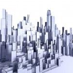 Architecture blueprint — Stock Photo