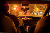 Taxi driver — Stock Photo