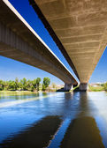 Bridge and river — Stock Photo