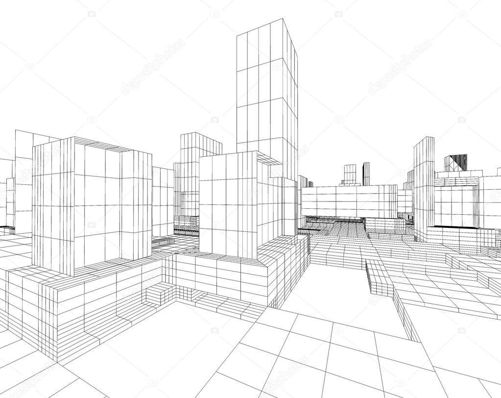 Architecture Blueprint Stock Photo Carloscastilla 4227260