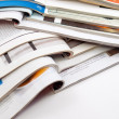 Several magazines and books — Stock Photo #4496245