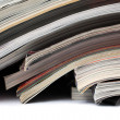Magazines and newspapers — Stock Photo