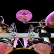 Drum on stage - Stock Photo