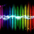 Royalty-Free Stock Photo: Music background