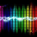 Fondo de música — Foto de Stock