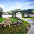 Village landscape — Stock Photo