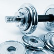 Weights — Stock Photo #5303225