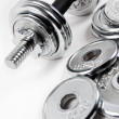 Weights — Stock Photo #5303226