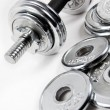 Stock Photo: Weights