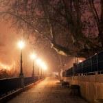 Night cityscape — Stock Photo