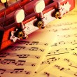 Musical background — Foto de stock #5303539