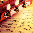 Musical background — Stock Photo #5303539