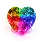 Heart shape diamond — Stock Photo