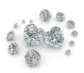 Diamanter grupp — Stockfoto