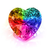 Heart shape diamond — Stock Photo