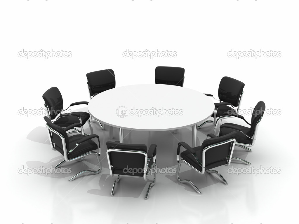 conference table and chairs stock photo apttone 3930343