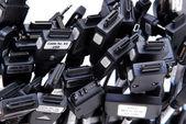 Many sockets — Stock Photo