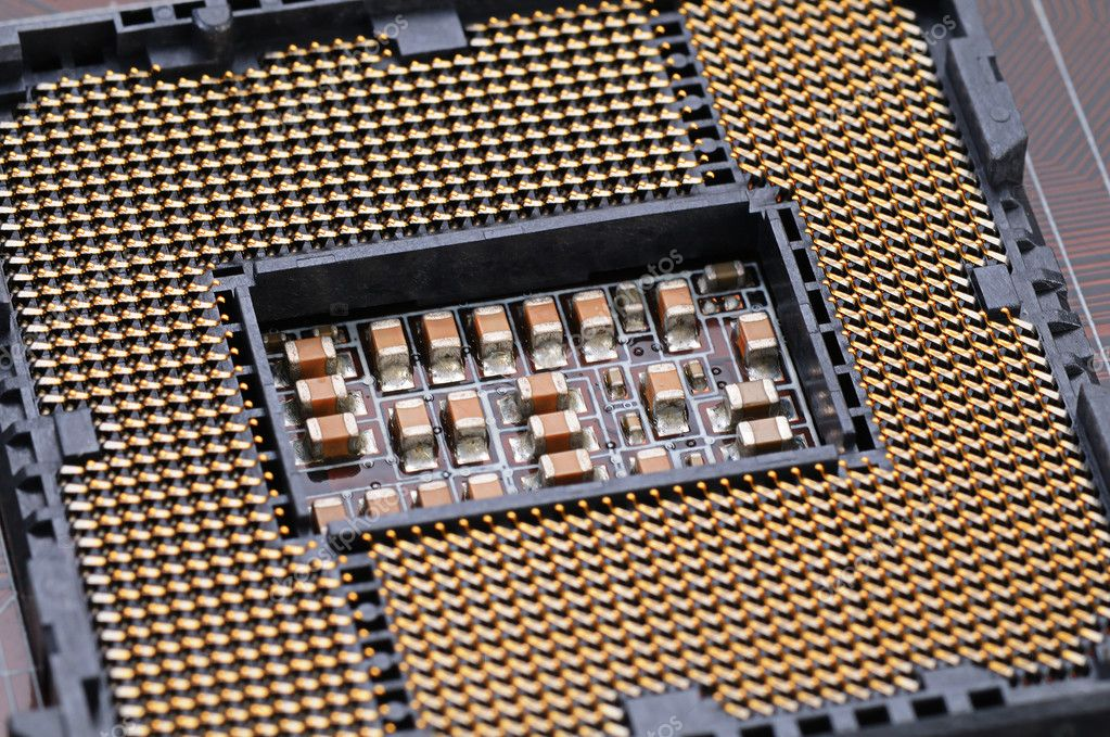 Semiconductors and the CPU — Stock Photo #3948696
