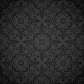 Seamless ornate elegant wallpaper background — Stock Vector
