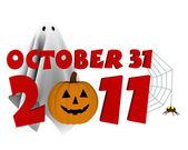 Halloween 2011 — Stock Photo