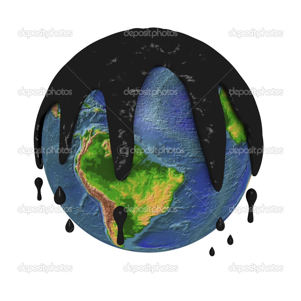 Polluted planet earth — Stock Photo © lucadp #4004678