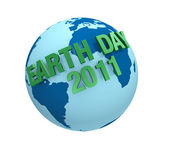 Earth day 2011 — Stock Photo