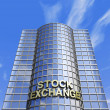 Stock Photo: Stock exchange headquarter