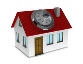 Protected house — Stock Photo