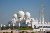 Sheikh Zayed Mosque Front View — Stock Photo
