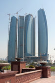 Abu Dhabi skyline building at day — Stock Photo