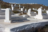 Cemetery At The Hill — Stock Photo