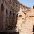 Roman Amphitheatre In Tunisia — Stock Photo
