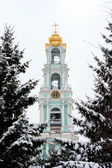 Bell tower. Lavra. Sergiev Posad. Russia — Stock Photo