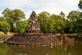 Preah Neak Pean Temple. Angkor. Cambodia — Stock Photo