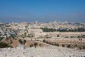 耶路撒冷视图 — 图库照片