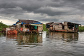 Cambodian Floating Village — Stock Photo