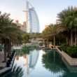 Stock Photo: Dubai resort and burj al arab
