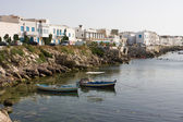 Boats at port. Mahdia. Tunisia. — Stock Photo