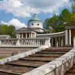 Colonnade And Chapel Museum Manor Arhangelskoe — Stock Photo #4767717