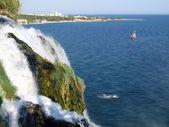 Waterfall In Antalya — Stock Photo