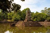 Preah Neak Pean Temple. Angkor. Cambodia — Stock Photo
