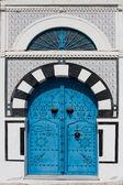 Tunisian Door — Stock Photo