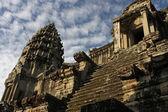 Centrale toren angkor wat tempel — Stockfoto
