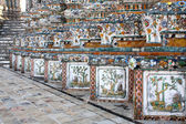 Thailand Wat Arun decoration — Stock Photo
