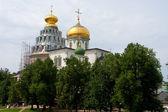 Cupola in New Jerusalem monastery - Russia — Stock Photo
