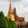 Golden Stupa - Grand Palace - Bangkok - Stock Photo