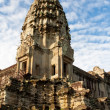 Central Tower Angkor Wat Temple — Stock Photo